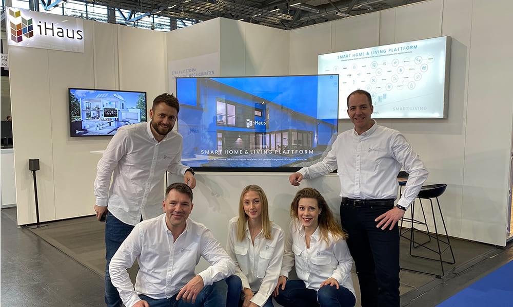 Das iHaus Team präsentiert die iHaus Plattform auf der DigitalBAU 2020