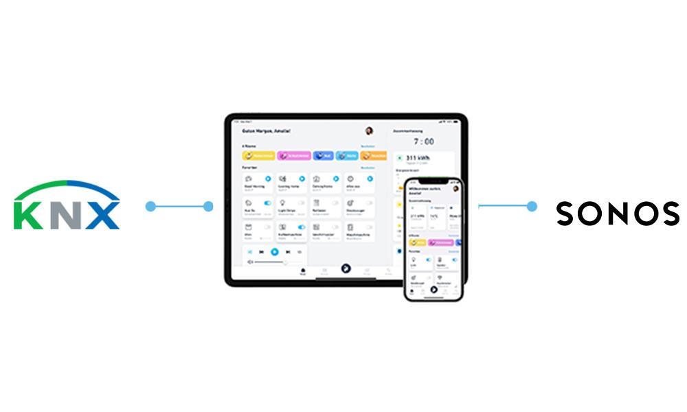 KNX und Sonos ganz einfach über die iHaus App verbinden
