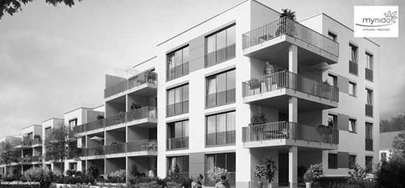 Smart Living Siedlung auf Basis der iHaus Smart Building Plattform