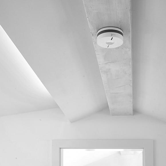 Intelligent smoke alarms develop their full potential through the connection to the iHaus IoT platform