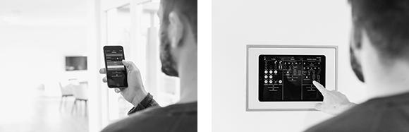 Control of iHaus Smart Building Platform