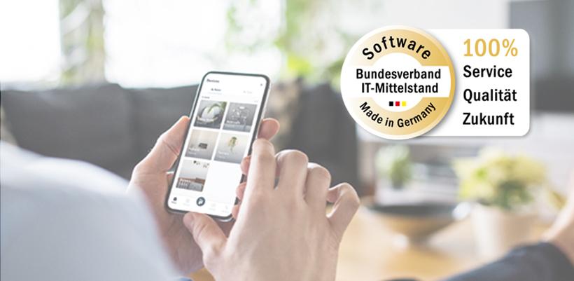 "iHaus Software zertifiziert mit ""Software made in Germany"""