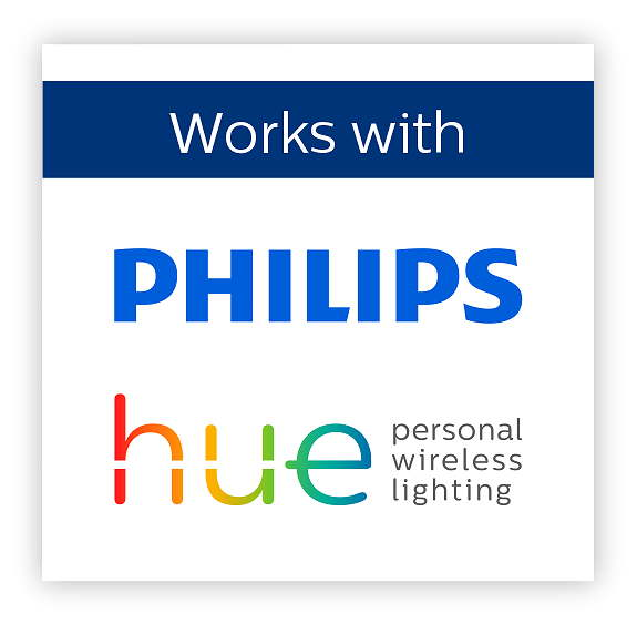 iHaus works with Philips hue