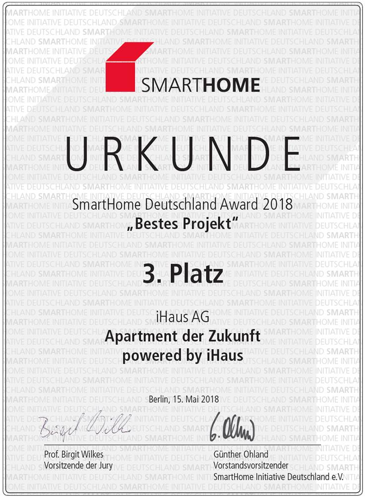 """""""Bestes Projekt"""": Apartment der Zukunft"""