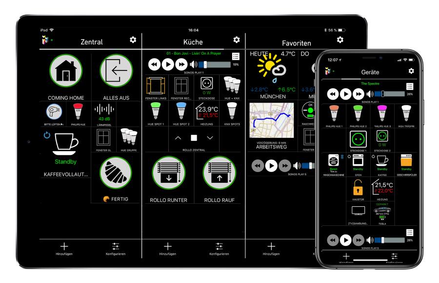 Smart Home Anwendungen auf der iHaus Plattform vereint