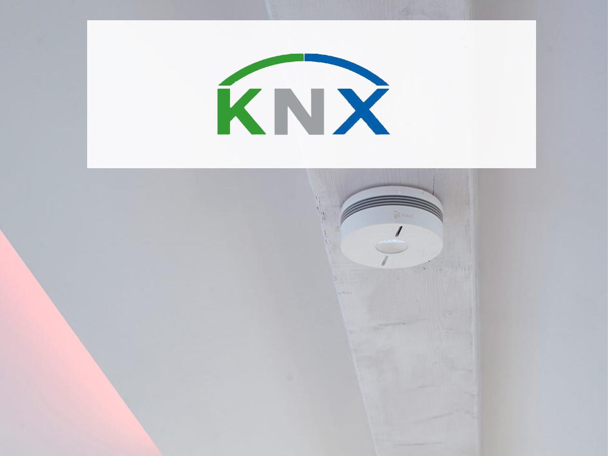 KNX Rauchmelder von iHaus mit WLAN