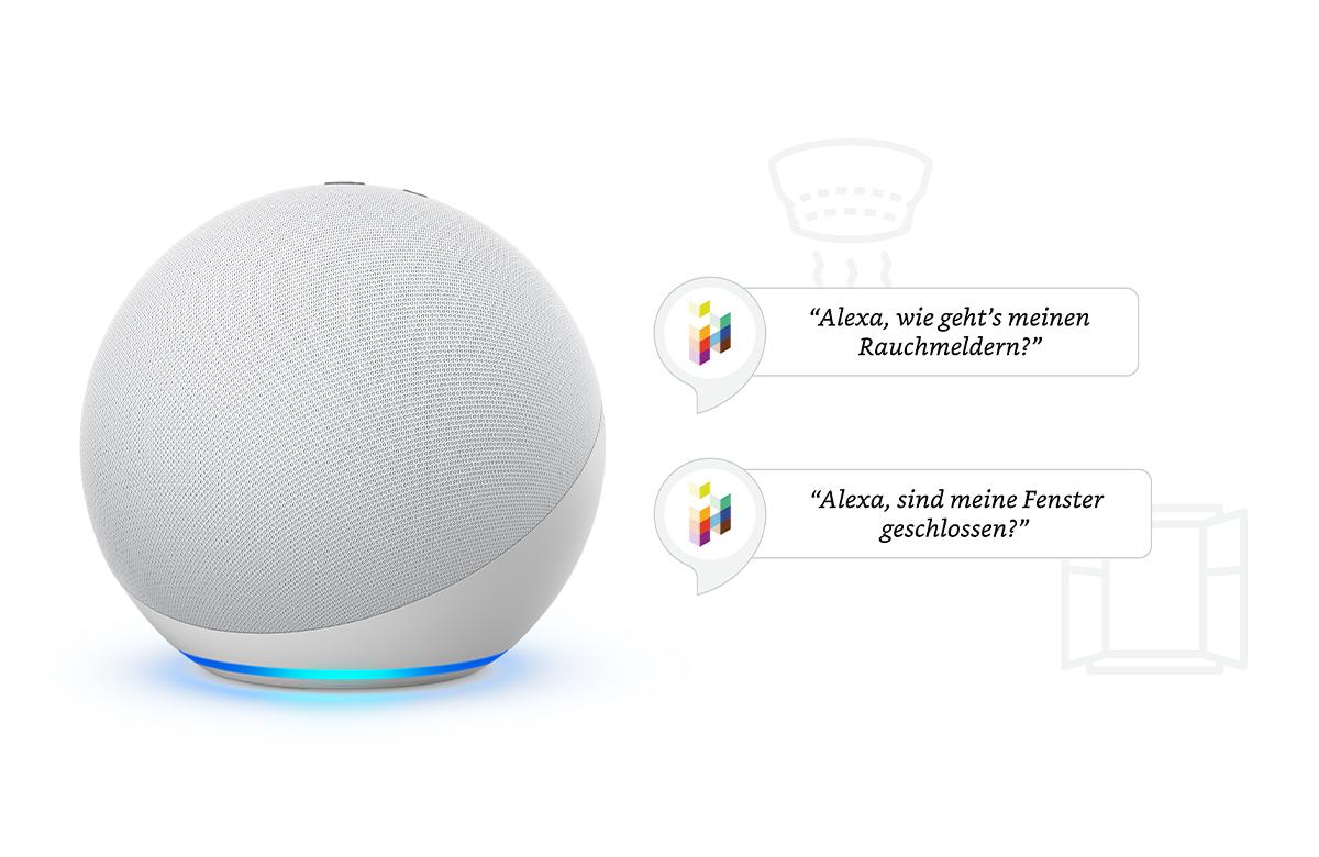 Mit dem iHaus Alexa Skill den Status deiner Geräte abfragen