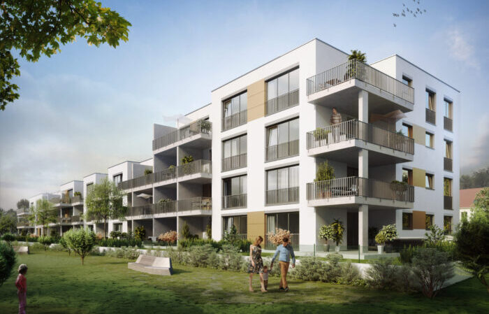 """Wohnprojekt """"mynido"""" bildet Megatrends der Immobilienbranche ab."""